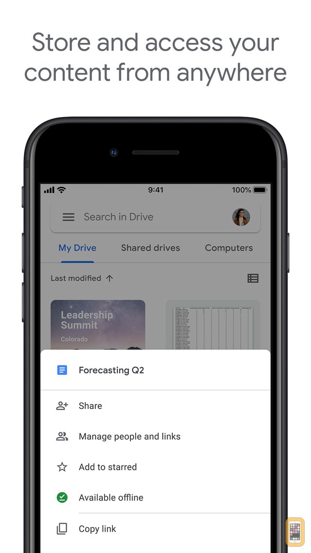 Screenshot - Google Drive