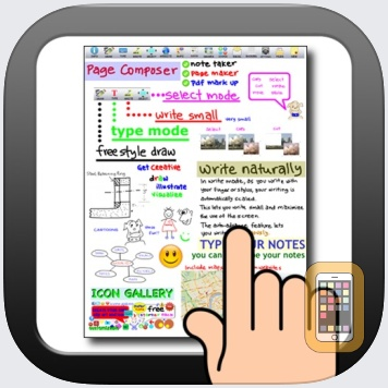 Page Composer & Note Taker for the iPad by Daydex Software (iPad)
