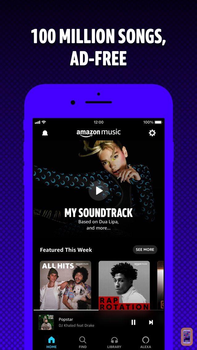 Screenshot - Amazon Music