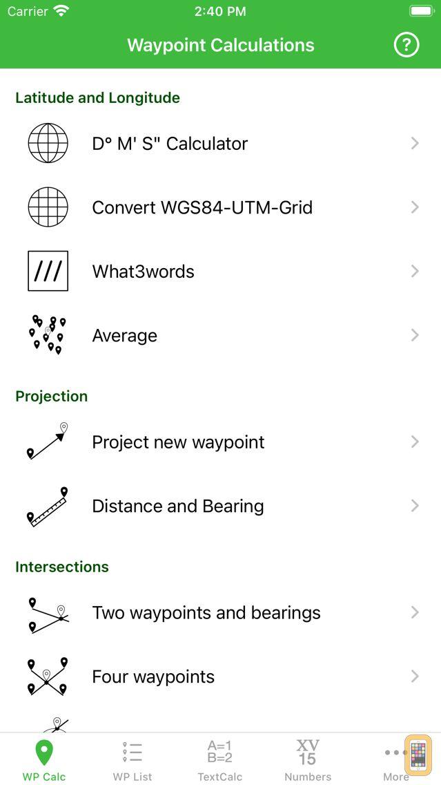 Screenshot - Geocaching Toolkit iGCT Pro