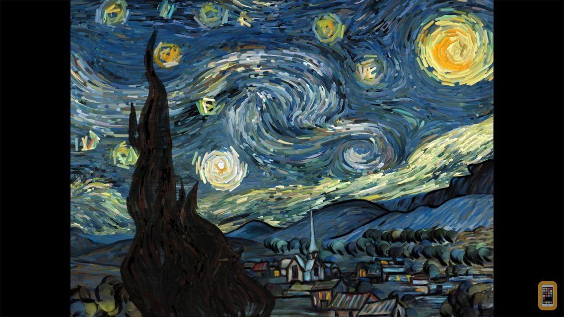 Screenshot - Starry Night Interactive Animation
