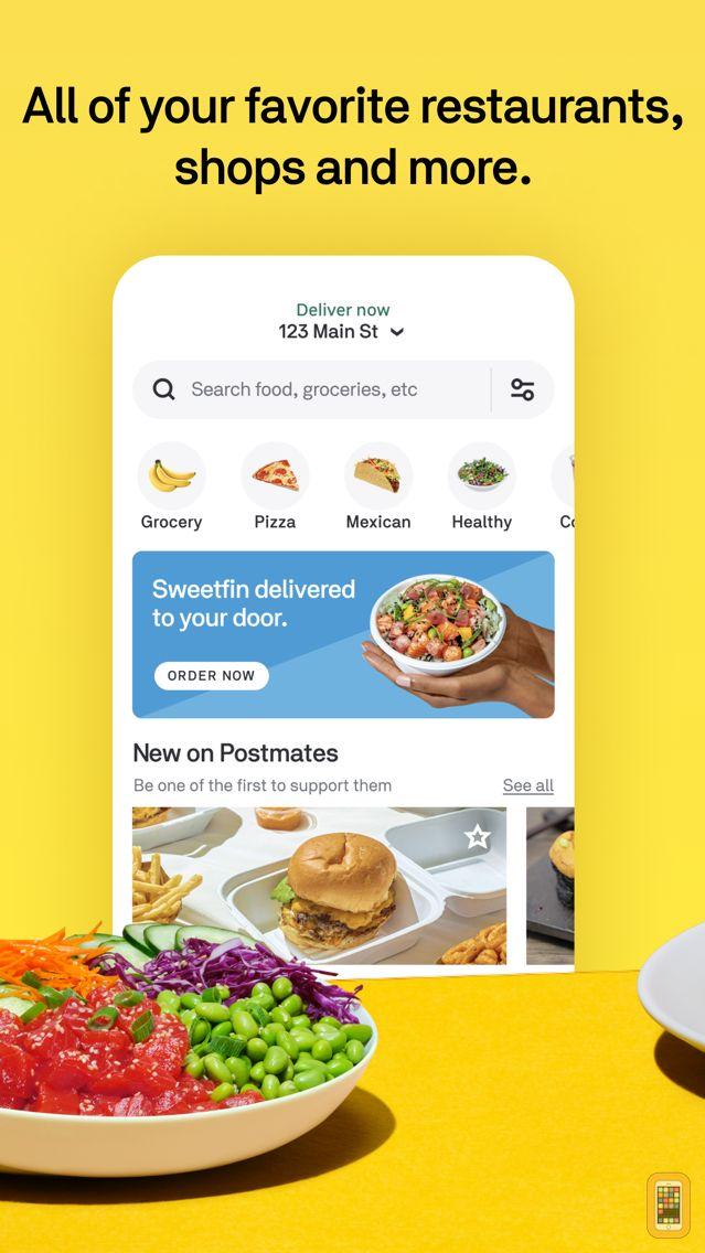 Screenshot - Postmates - Food Delivery