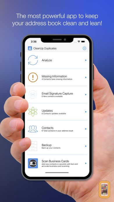 Screenshot - Cleanup Duplicate Contacts!