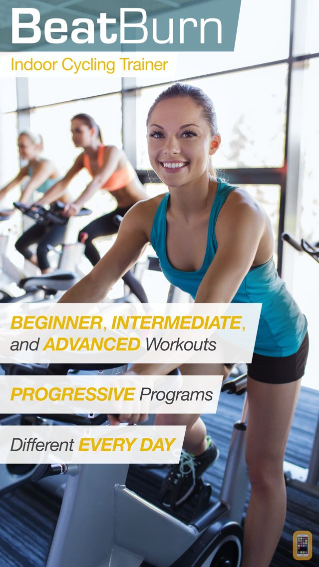 Screenshot - BeatBurn Indoor Cycling Trainer - Low Impact Cross Training for Runners and Weight Loss