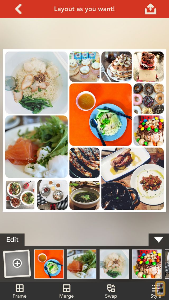Screenshot - Frame Artist Pro - Photo Collage Editor - Design Scrapbook by Pic Layout and FX Filters For Instagram