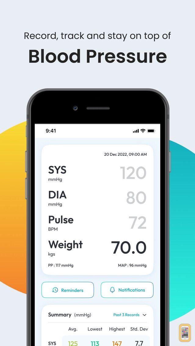 Screenshot - SmartBP - Smart Blood Pressure