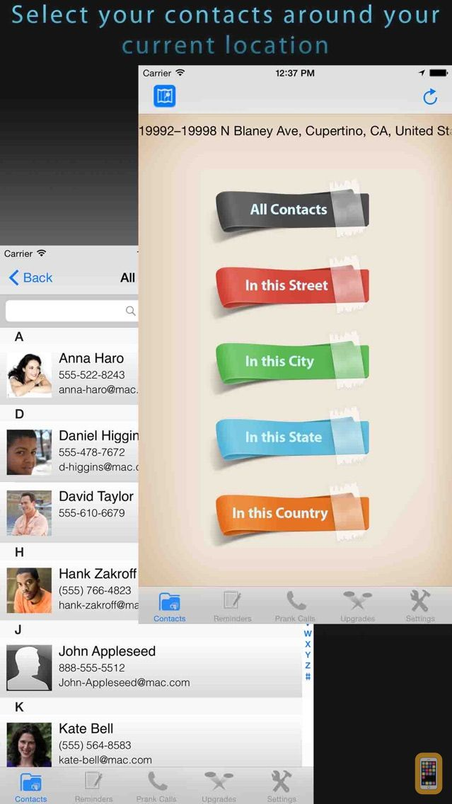 Screenshot - Smart Contacts - End Loneliness