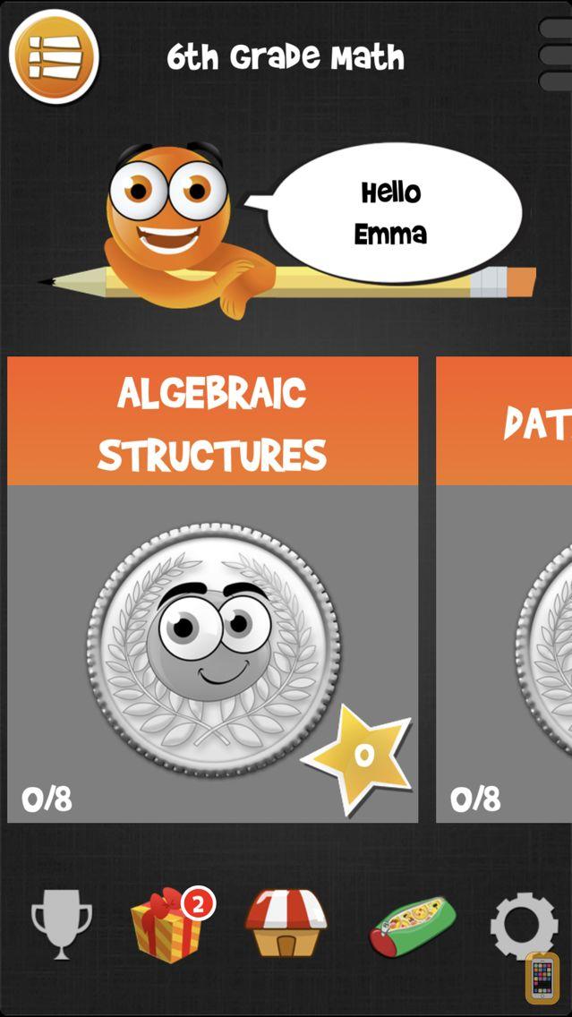 Screenshot - iTooch 6th Grade | Math