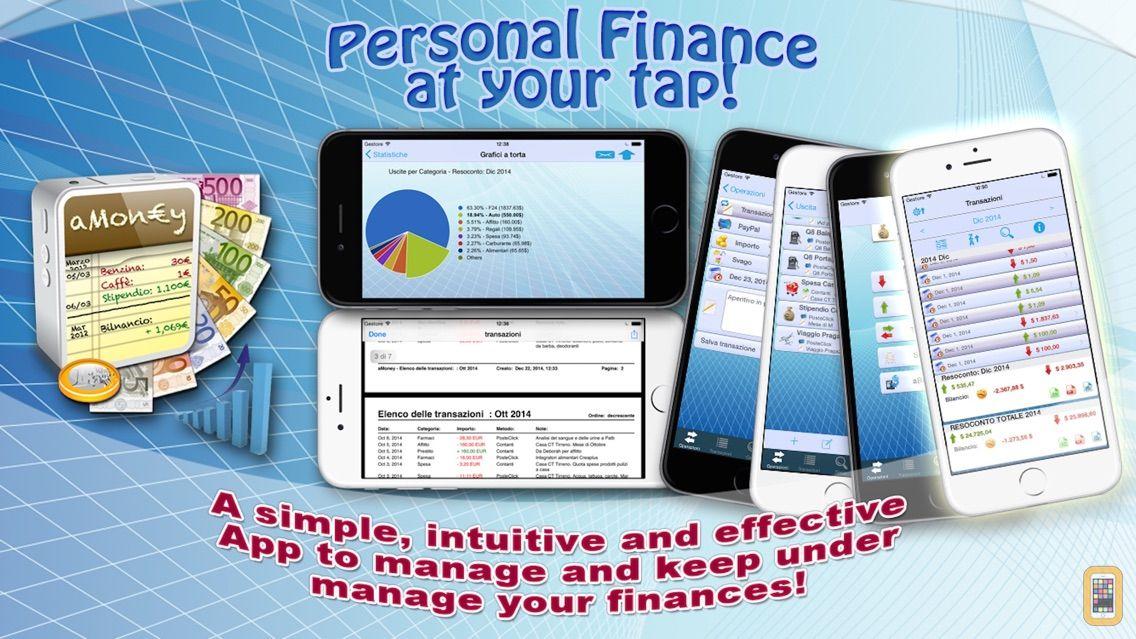 Screenshot - aMoney - Money management