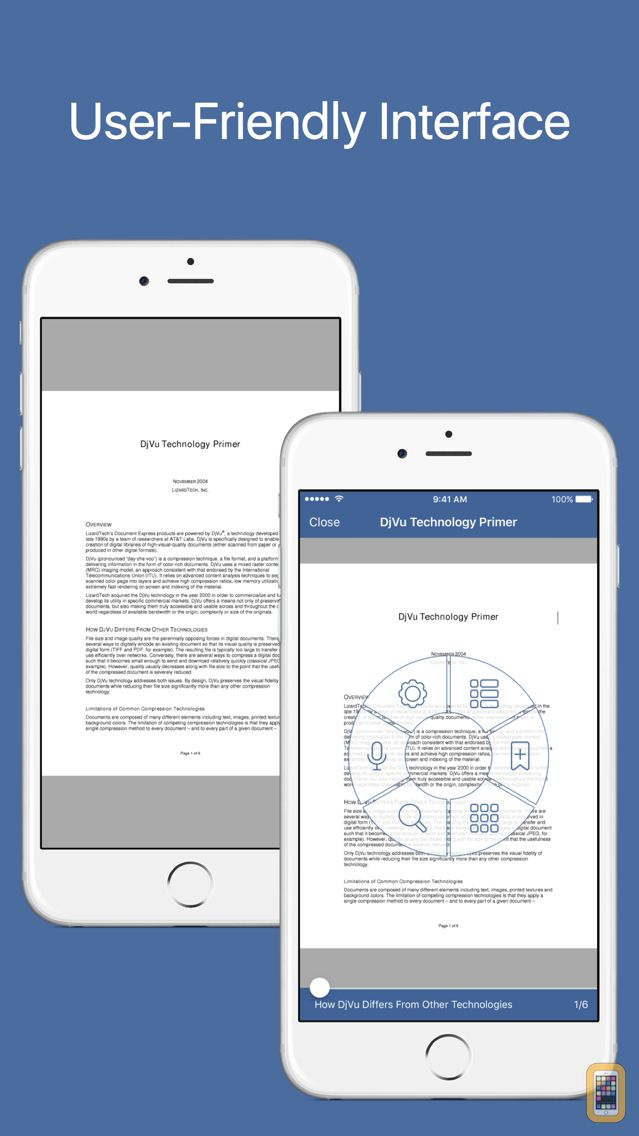 Screenshot - DjVu Reader Pro - Viewer for djvu and pdf formats