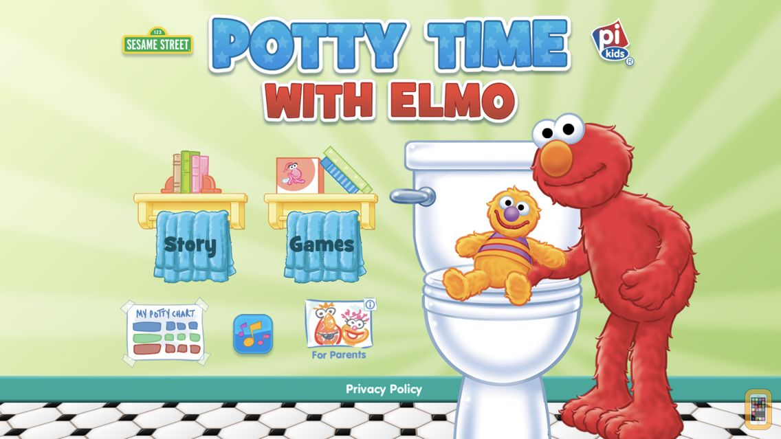 Screenshot - Potty Time with Elmo