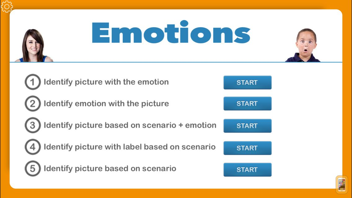 Screenshot - Emotions from I Can Do Apps