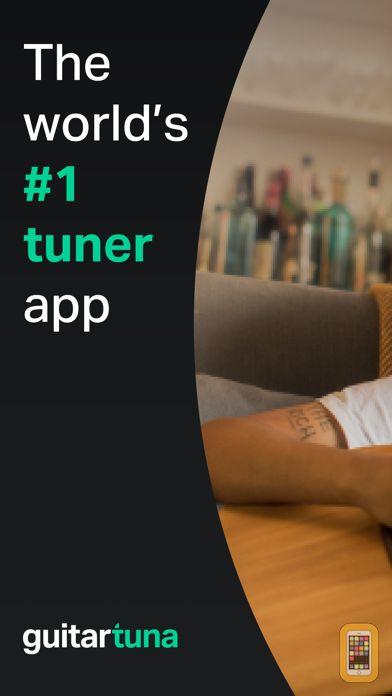 Screenshot - GuitarTuna: Guitar, Bass tuner
