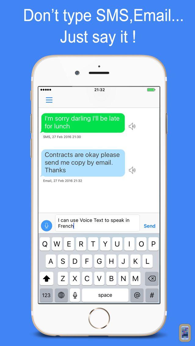 Screenshot - Voice Text