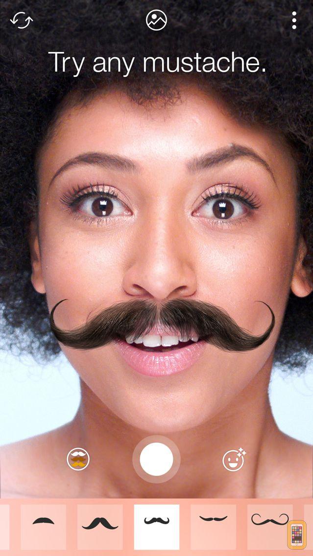 Screenshot - Stacheify - Mustache face app