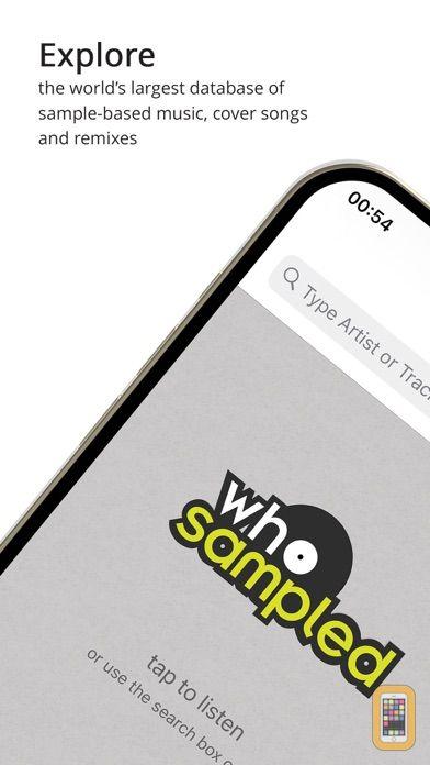 Screenshot - WhoSampled