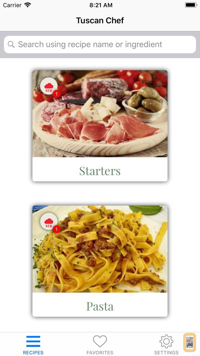 Screenshot - Tuscan Chef - Italian food