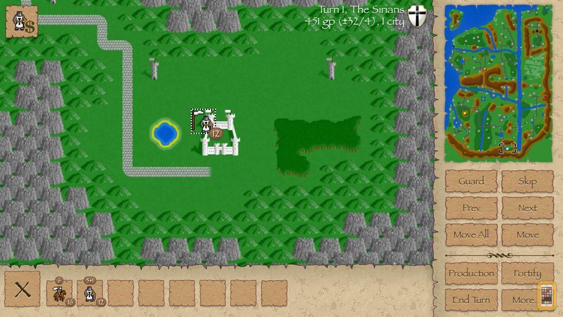 Screenshot - Warlords Classic Strategy