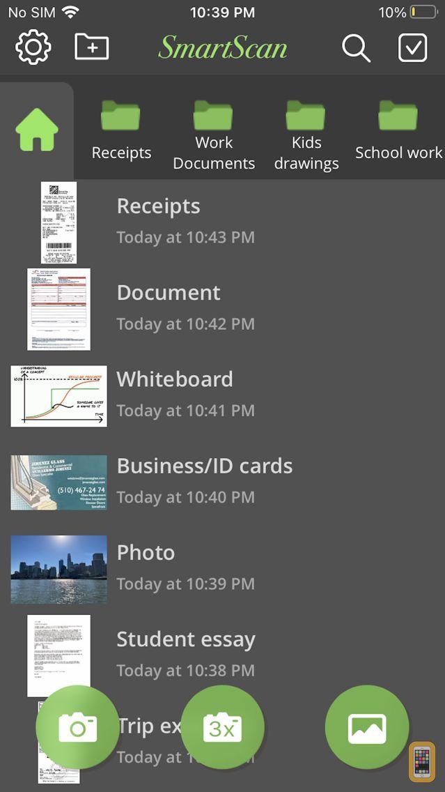 Screenshot - SmartScan Express