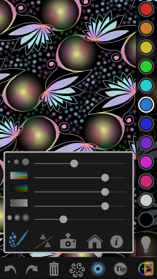 Screenshot - iOrnament: draw mandala & art