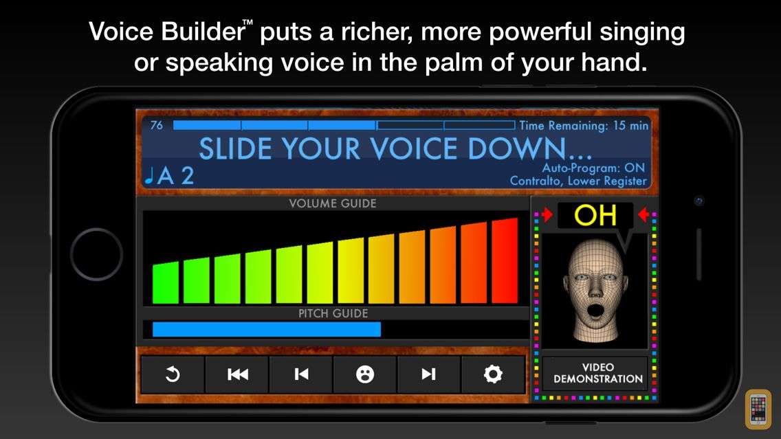 Screenshot - Voice Builder