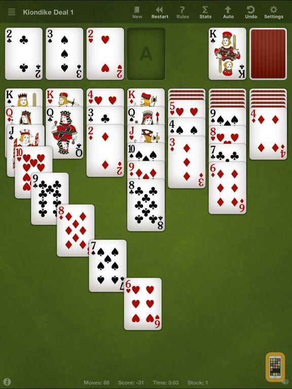 Screenshot - Solitaire Pro – 160 Card Games