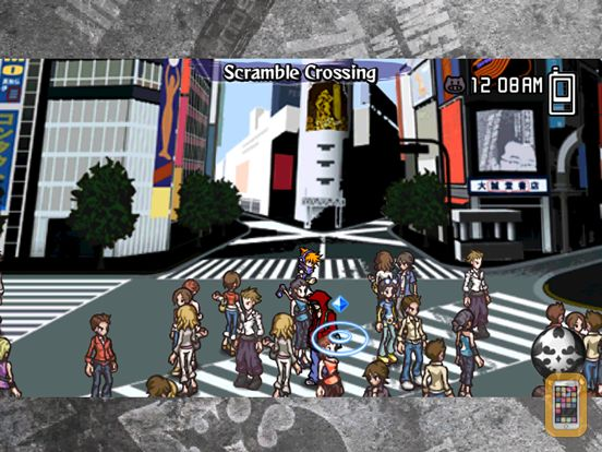 Screenshot - The World Ends with You: Solo Remix for iPad