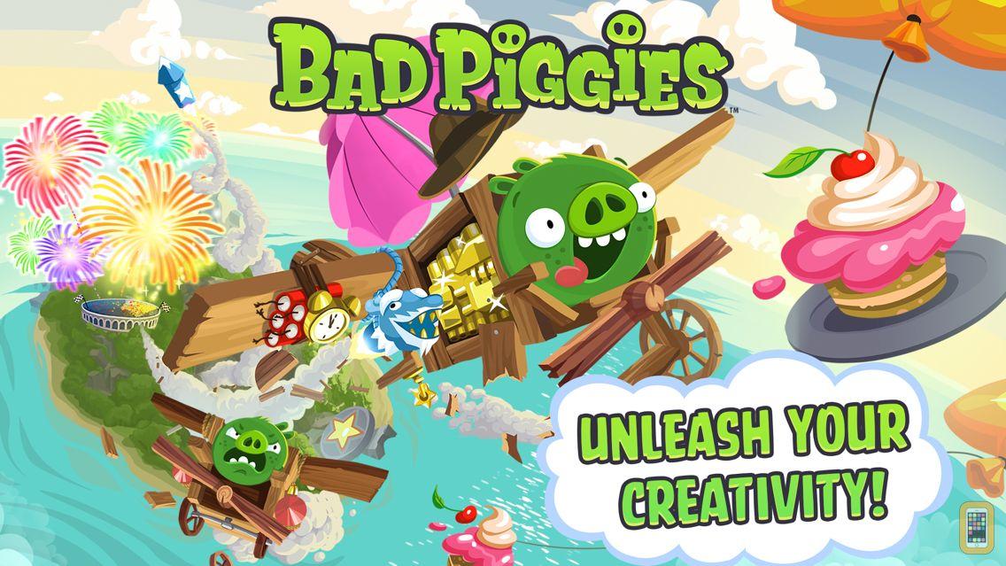 Screenshot - Bad Piggies HD