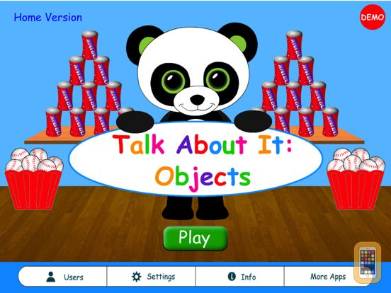 Screenshot - Talk About It: Objects Home HD