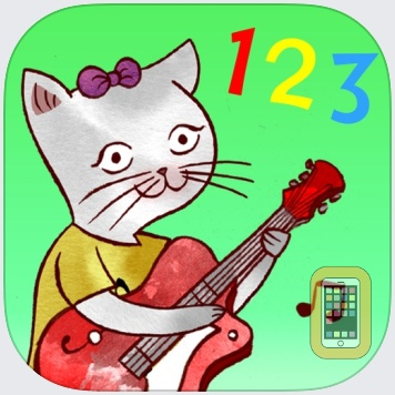 Jazzy 123 - Learn to Count with Music by The Melody Book (Universal)