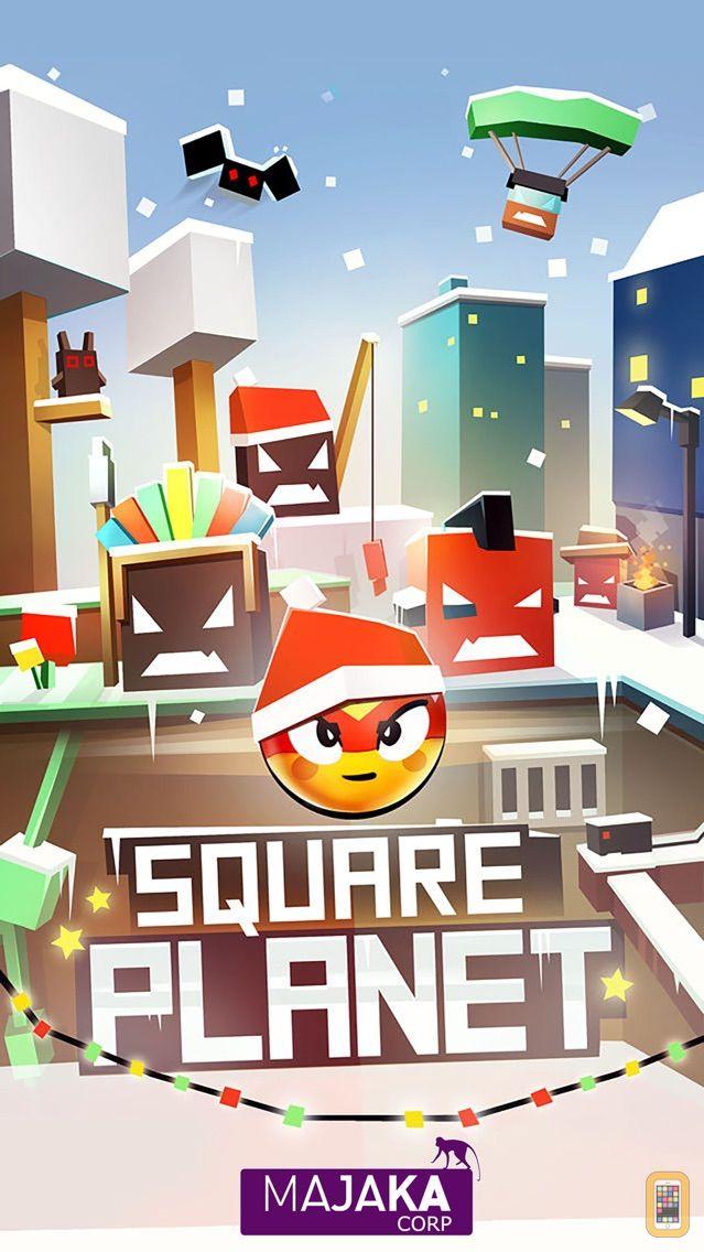 Screenshot - Square Planet