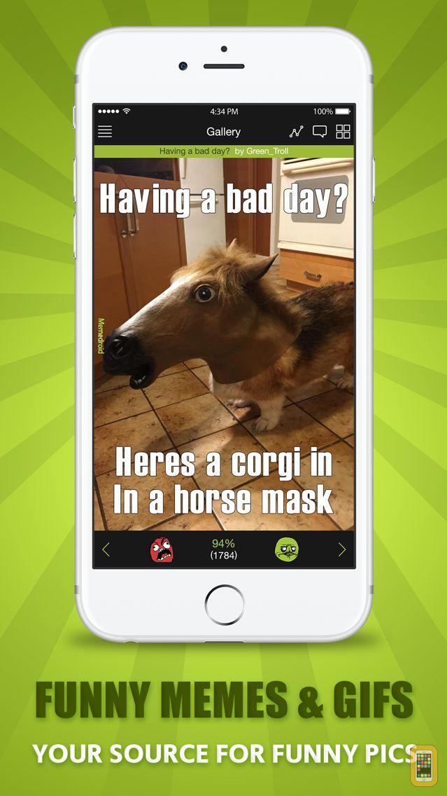 Screenshot - Memedroid Funny Pics Meme Reader - Meme Generator