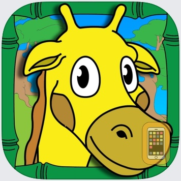 Coloring Animal Zoo Touch To Color Activity Coloring Book For Kids and Family Preschool Ultimate Edition by Eggroll Games LLC (Universal)