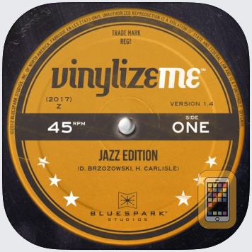 VinylizeMe by BlueSpark Studios, Inc. (iPhone)