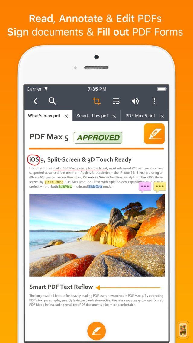 Screenshot - PDF Max Pro - #1 PDF app!