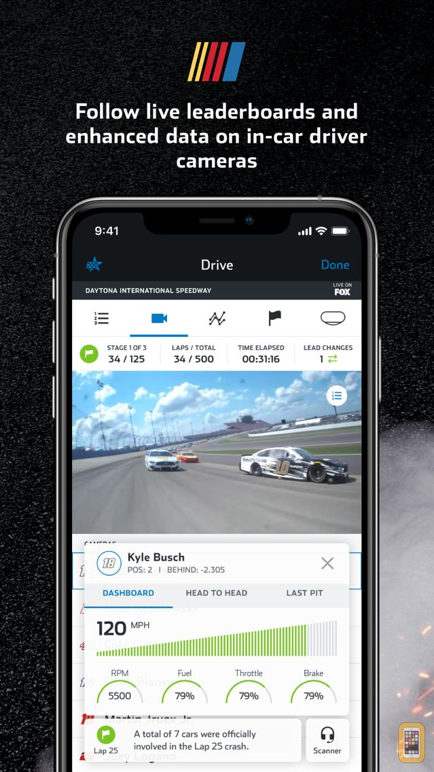 Screenshot - NASCAR MOBILE