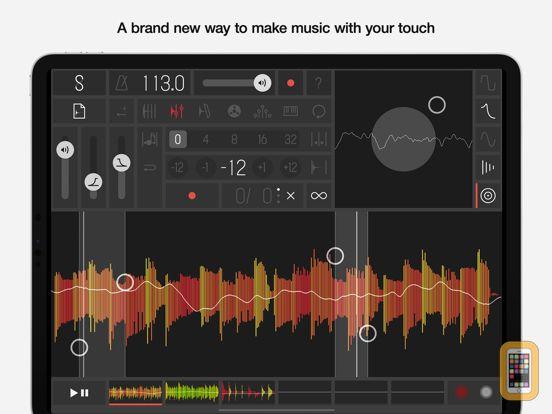 Screenshot - Samplr - Touch the Music