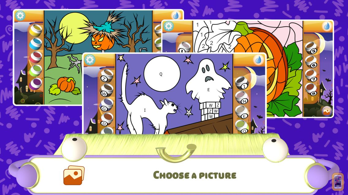 Screenshot - Color by Numbers - Halloween +