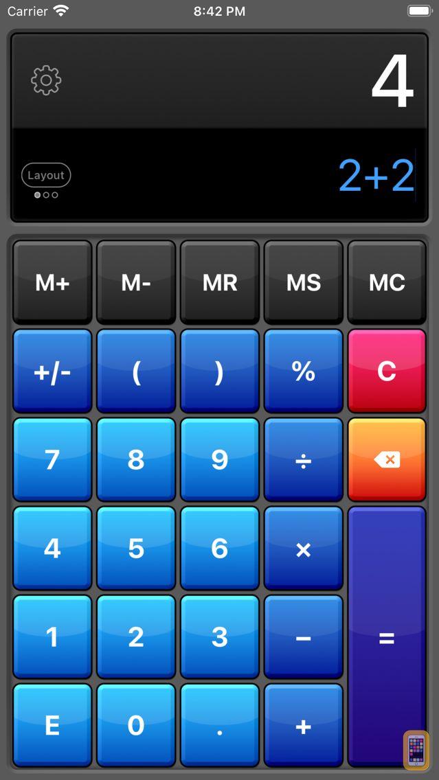 Screenshot - Calculator HD Pro