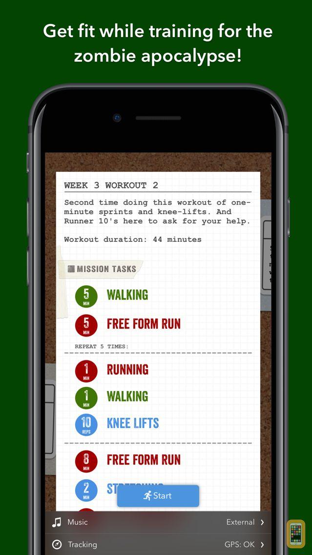 Screenshot - Zombies, Run! 5k Training