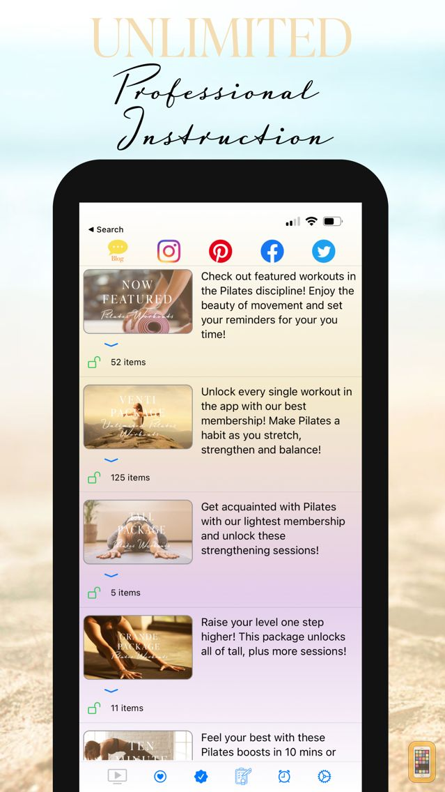 Screenshot - Fittbe Daily Pilates Workouts