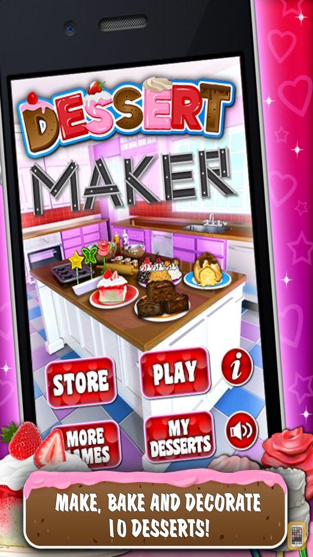 Screenshot - Sweet Dessert Maker Games