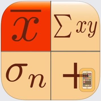 Statistics Calculator+++ by Dogahe (iPad)