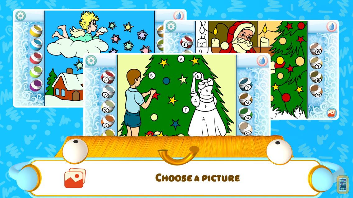 Screenshot - Color by Numbers - Christmas +