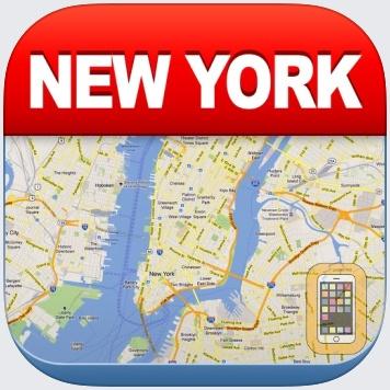 New York Offline Map by Green Lake Technology Ltd (Universal)