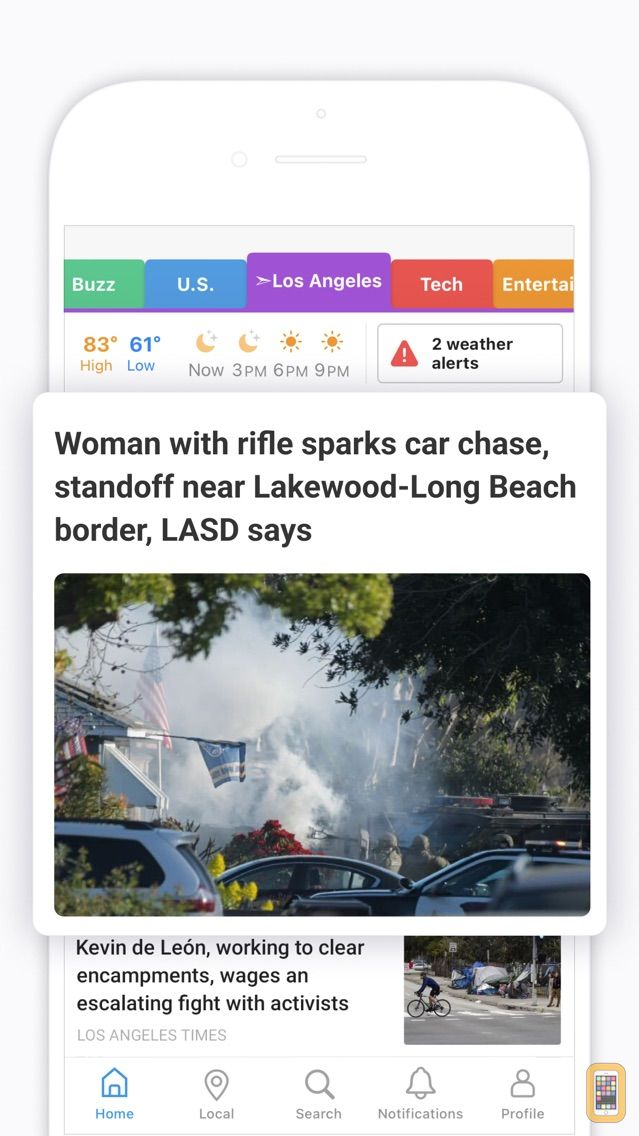 Screenshot - SmartNews: Local Breaking News