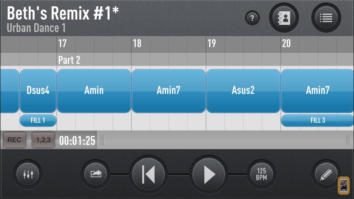 Screenshot - SessionBand Original