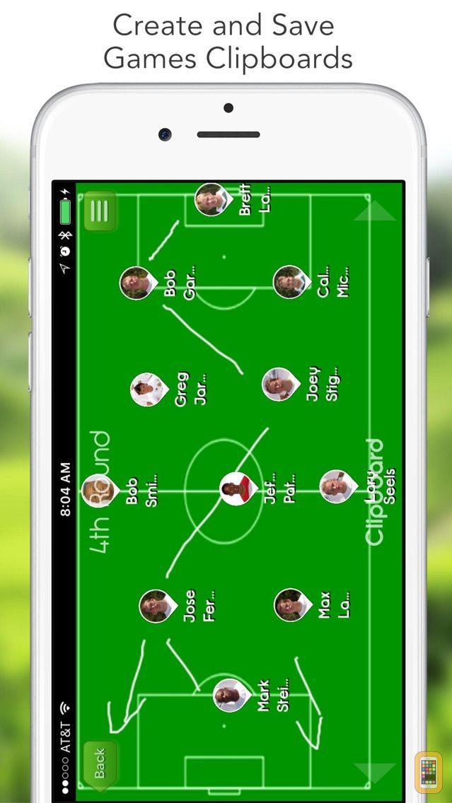 Screenshot - iGrade for Soccer Coach (Lineup, Score, Schedule)