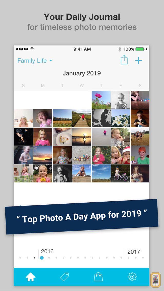 Screenshot - Collect - Photo Journal, Diary