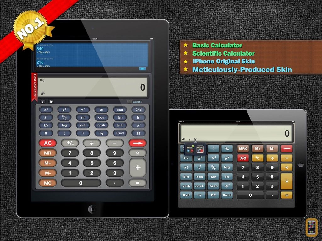 Screenshot - Calculator HD for iPad.